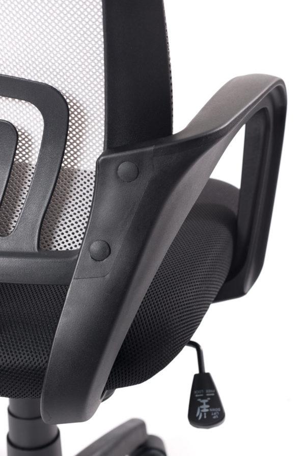 chaise-bureau-ergonomique-gris-noir-kayelles