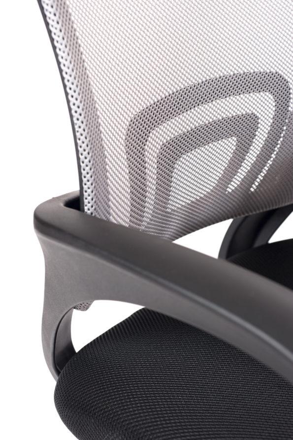 fauteuil-bureau-ergonomique-gris-noir-flag-kayelles