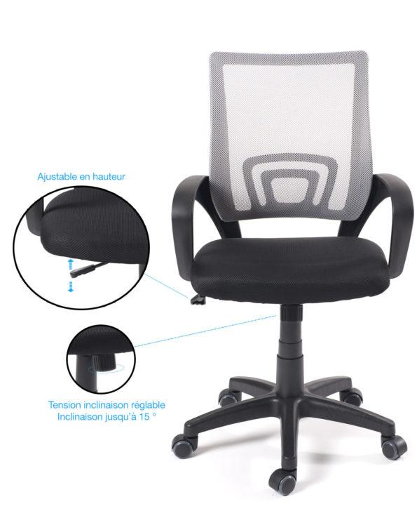 fauteuil-bureau-flag-chaise-bureau-ergonomique-gris-noir-kayelles