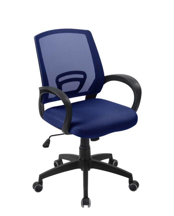 Fauteuil dChaise de Bureau Confort FLAG - Bleue Bureau Ergonomique FLAG - Bleu