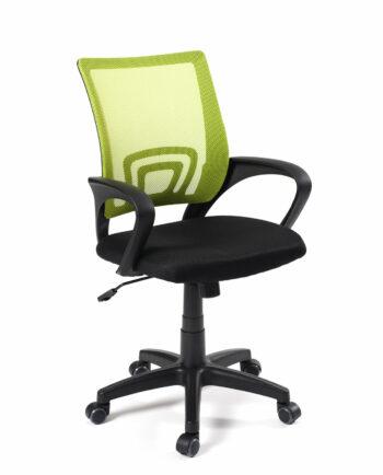 Chaise de bureau FLAG - Fauteuil de bureau pas cher - Vert et noir - Kayelles