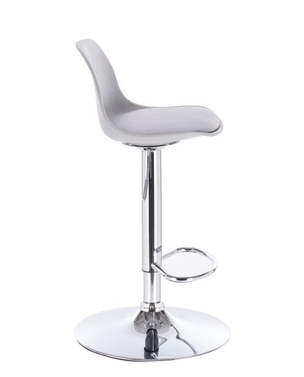 Lot de 2 chaises de bar SIG - gris Clair - cuisine design Kayelles