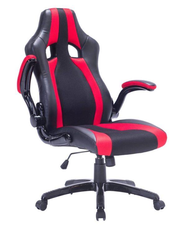 Chaise bureau Sport - Fauteuil Racing - Rouge