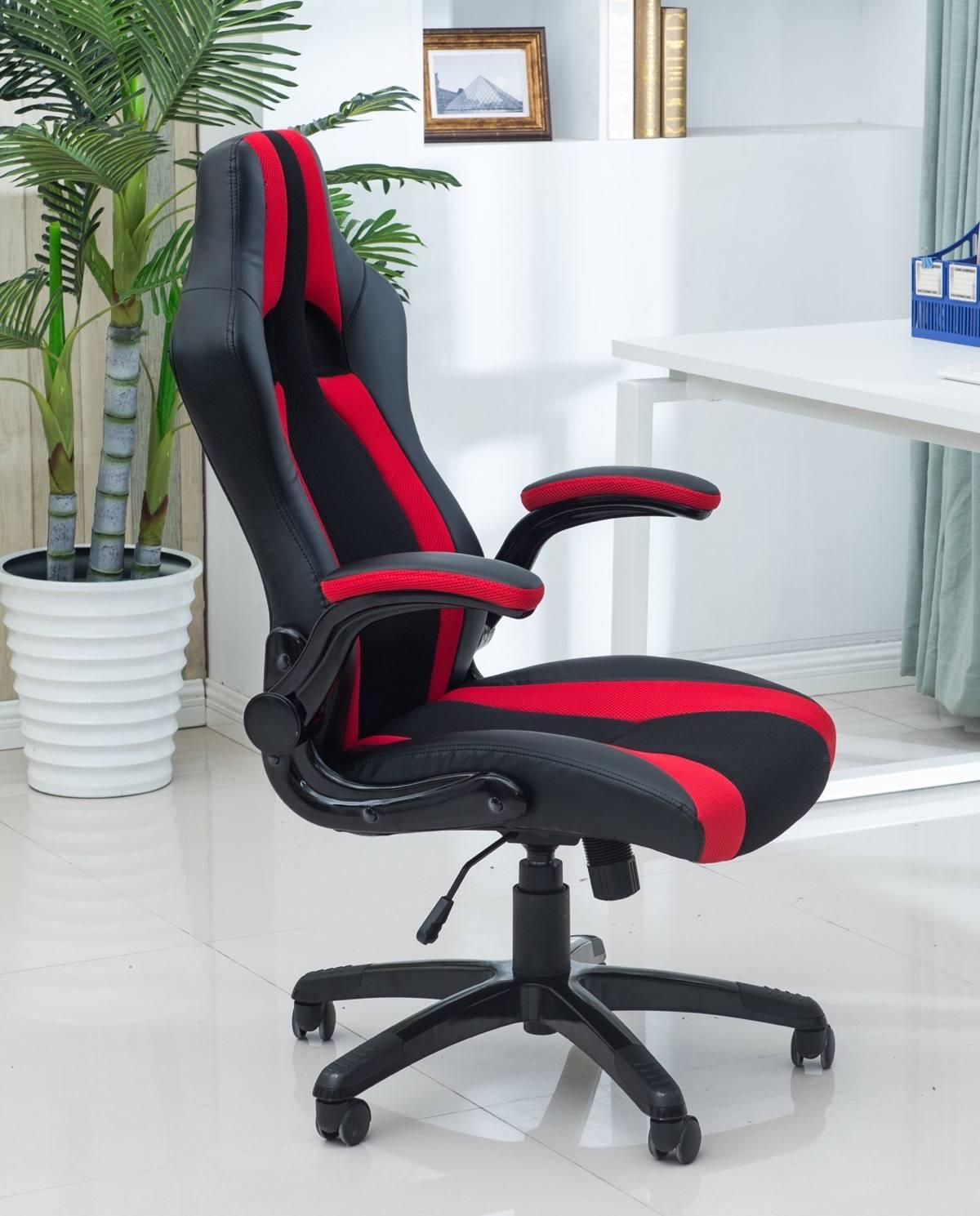 latif chaise de bureau sport fauteuil racing. Black Bedroom Furniture Sets. Home Design Ideas