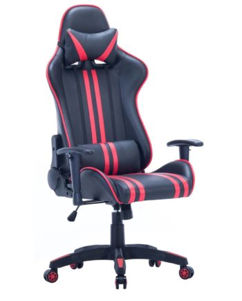 Fauteuil de Bureau Racing - Gaming Chair - Rouge - LAONE