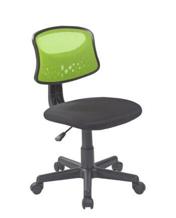 FAYA chaise de bureau enfant Vert