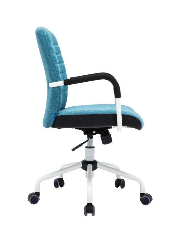 Flair Chaise de Bureau Moderne Bleu