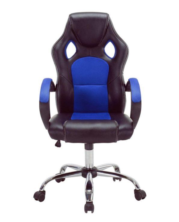 LICK Fauteuil de Bureau Racing Gaming Bleu