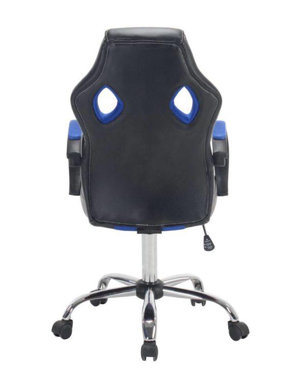 LICK Chaise Fauteuil de Bureau Sport Gamers Bleu