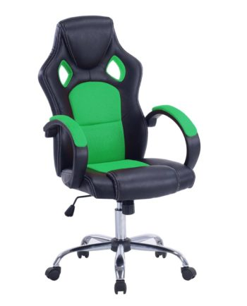 LICK Chaise de Bureau Racing Gaming Vert