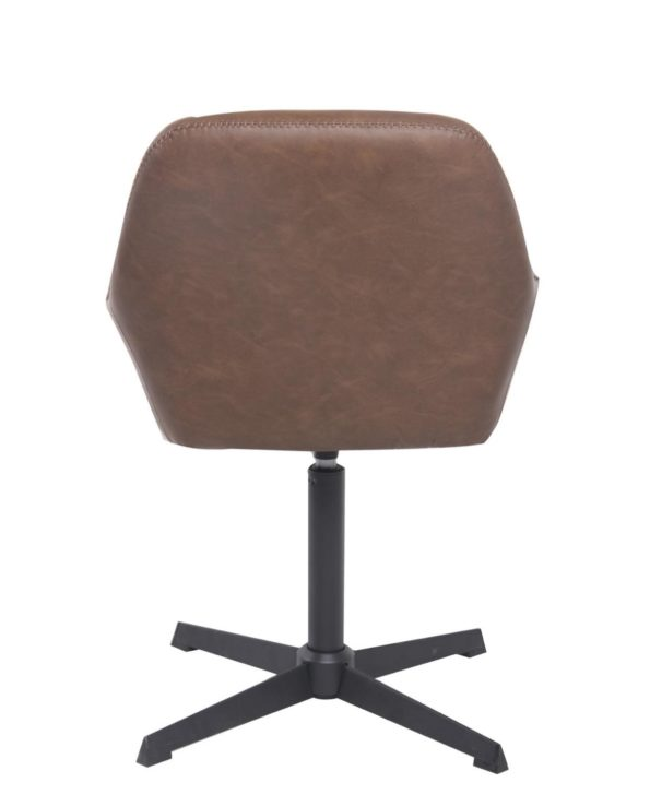 CALI Chaise vintage années 60 - Marron Vintage