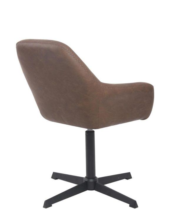 CALI Chaise vintage pivotante années 60 - pietement metal
