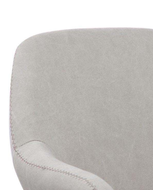 CALI Chaise Vintage Toile Couleur Sable