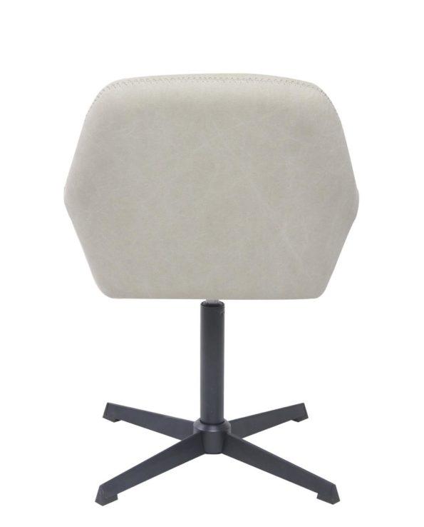 Chaise vintage pivotante années 60 - pietement Metal - Toile couleur Sable