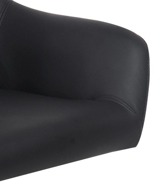 CAPA - Chaise de Bureau Design PU noir