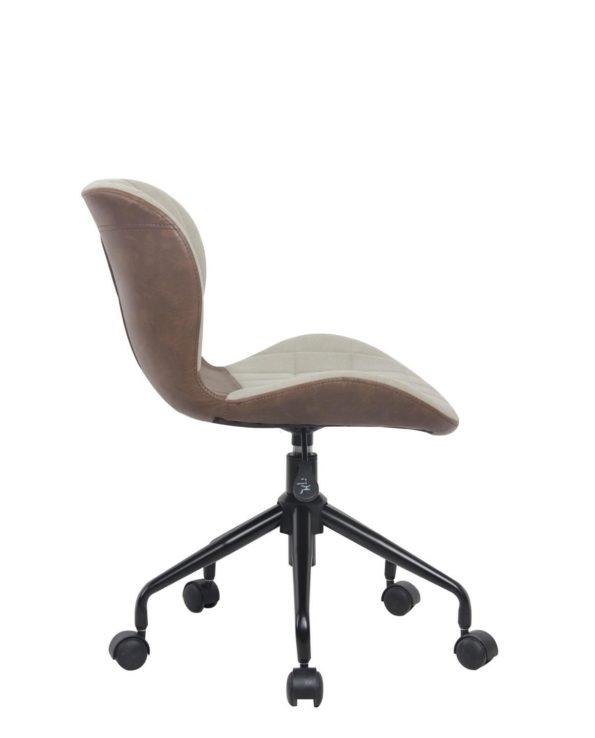 CARA Chaise de Bureau Design Pivotante Réglable en Hauteur