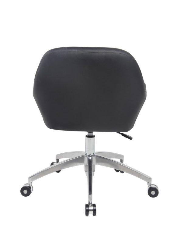 Chaise de Bureau Design - PU Noir