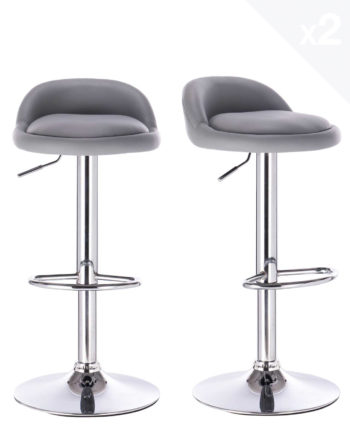 tabourets-de-bar-reglable-chrome-pu-gris-clair-SATI