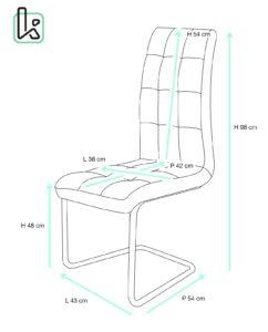 chaise-salle-manger-confort-matelassees-maxi-kayelles