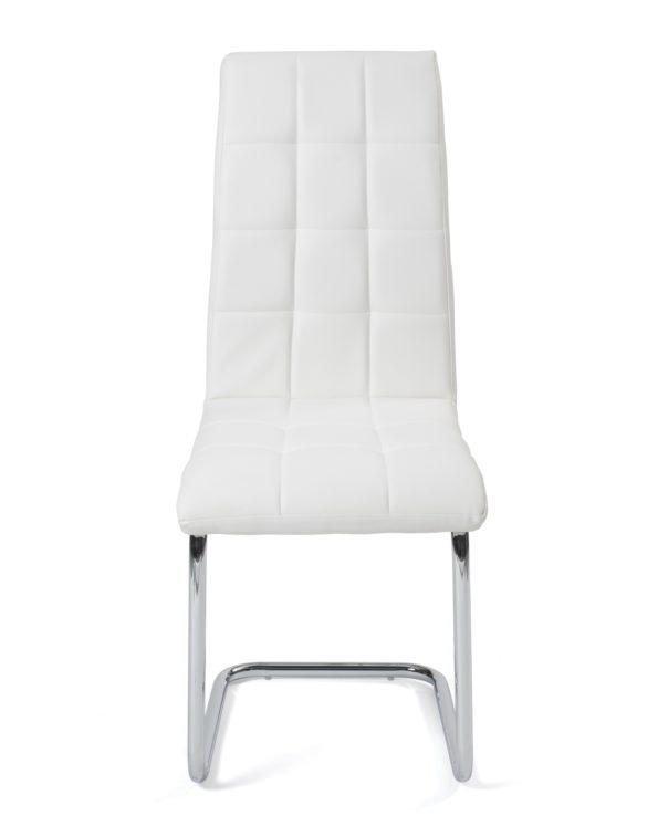 Chaises salle à manger confort - matelassées - Blanc Maxi