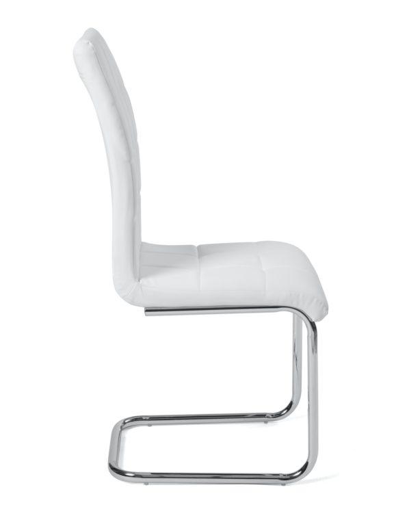 chaises-salle-a-manger-lot-2-blanc-maxi