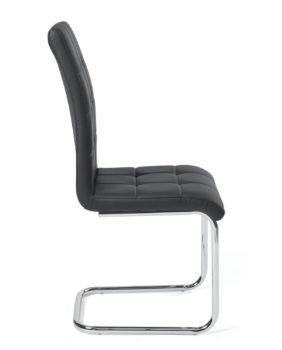 chaises-salle-a-manger-lot-2-noir-maxi