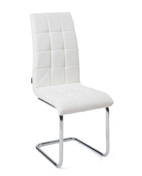 Chaises salle à manger Lot de 4 - matelassées - Blanc Maxi