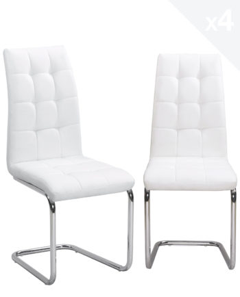 lot-4-chaises-salle-a-manger-matelassees-blanc-maxi-kayelles