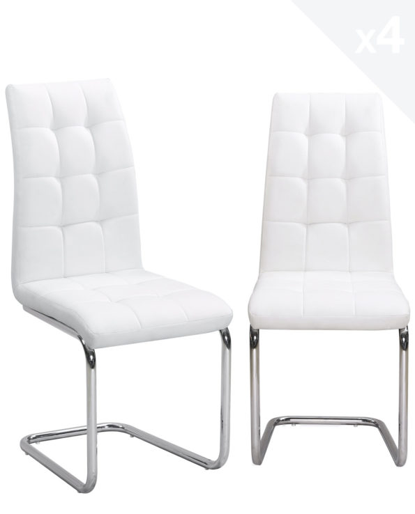 lot-4-chaises-salle-a-manger-matelassees-blanc-maxi-kayelles