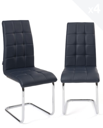 lot-4-chaises-salle-a-manger-matelassees-bleu-nuit-maxi-kayelles