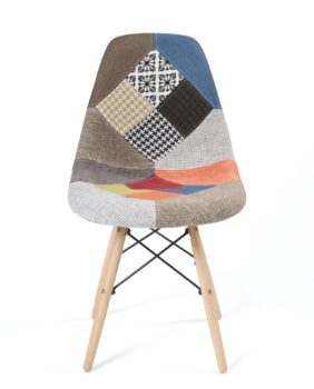 chaises design scandinave patchwork - NADIR kayelles