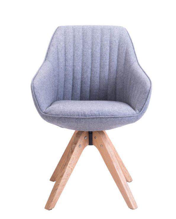 Chaise Design scandinave pivotante - DUNE - KAYELLES