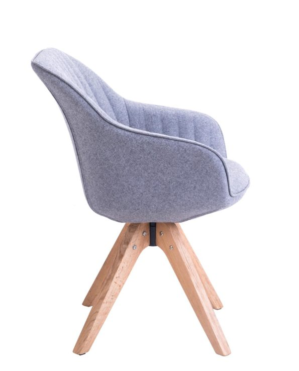DUNE Chaise Design scandinave pivotante - KAYELLES
