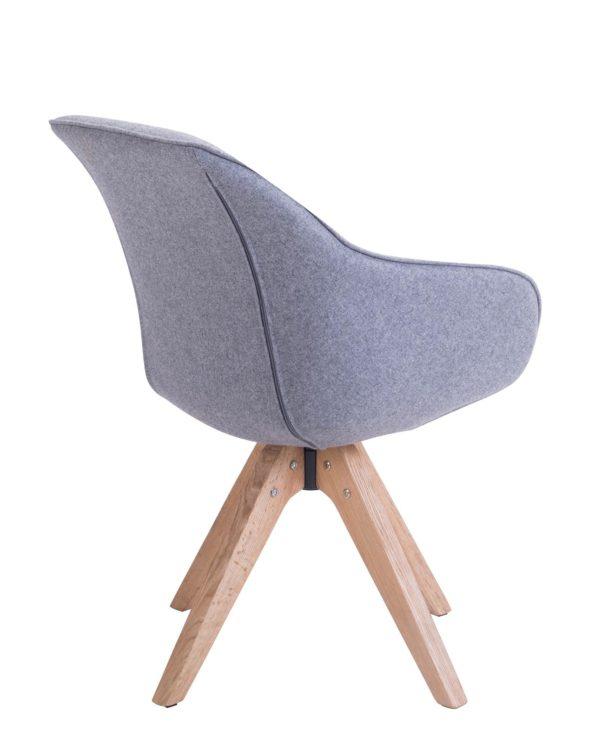 Chaise Design scandinave pivotante - KAYELLES
