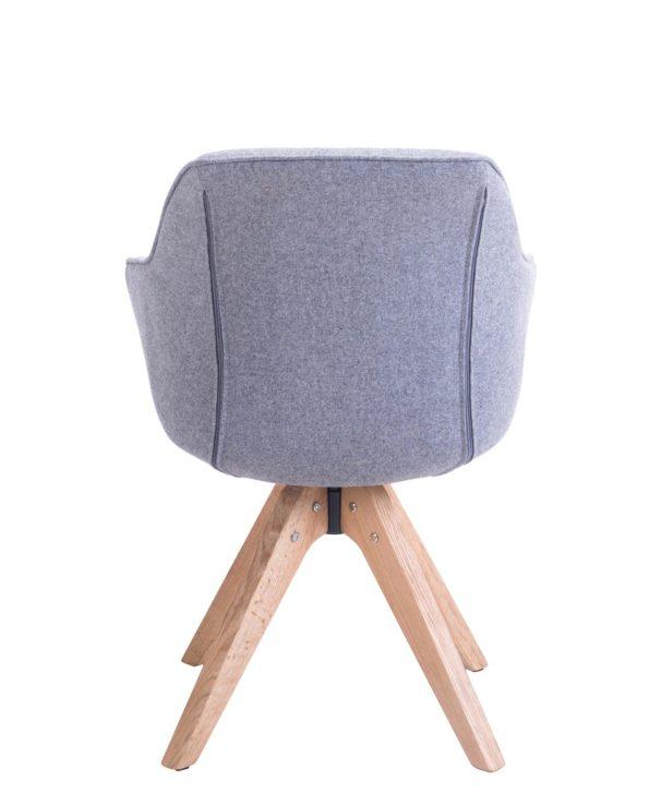 Chaise Design scandinave pivotante - DUNE