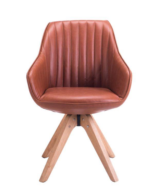 dune-chaise-design-scandinave-style-moderne-marron