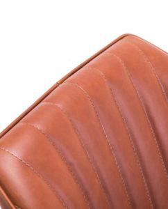 DUNE - Chaise Design scandinave pivotante (Havane) KAYELLES