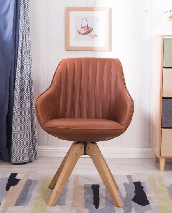 dune-chaise-design-scandinave-style-moderne-marronbis