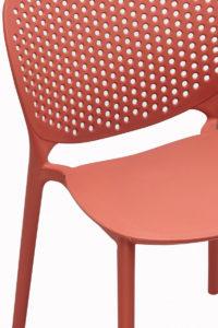 Chaise jardin, exterieur moderne en plastique design - Safran