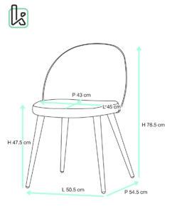 chaise-scandinave-vintage-Giza-kayelles-lot-2-chaises-design