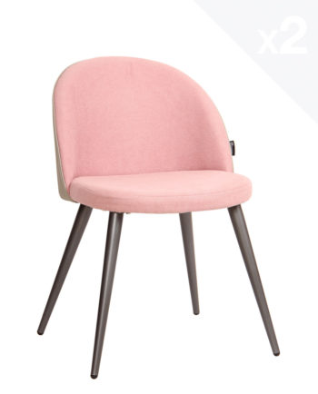 chaise-scandinave-vintage-Giza-lot-2-chaises-cocktail-retro-salle-a-manger-cuisine-rose-gaufre