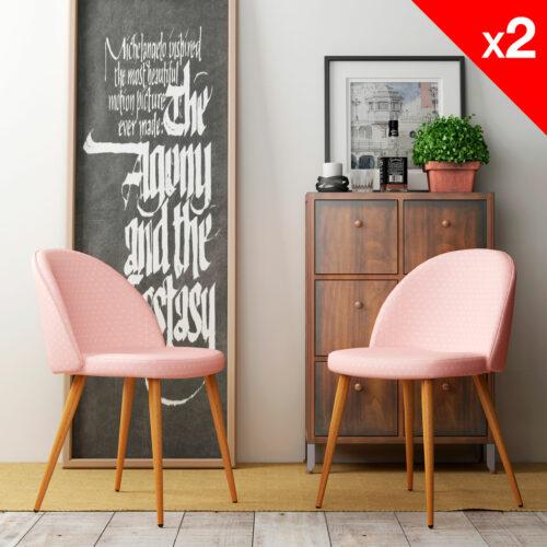 chaise-vintage-Giza-lot-2-chaises-scandinave-retro-cuisine-rose-etoiles