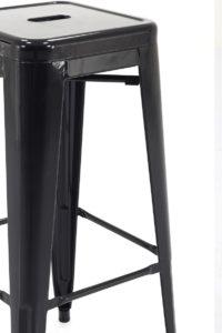 Tabourets Industriels Tolix CLYDE 77 cm Noir