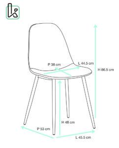 chaise-design-salle-a-manger-sejour-lot-de-4-chaises-vintage