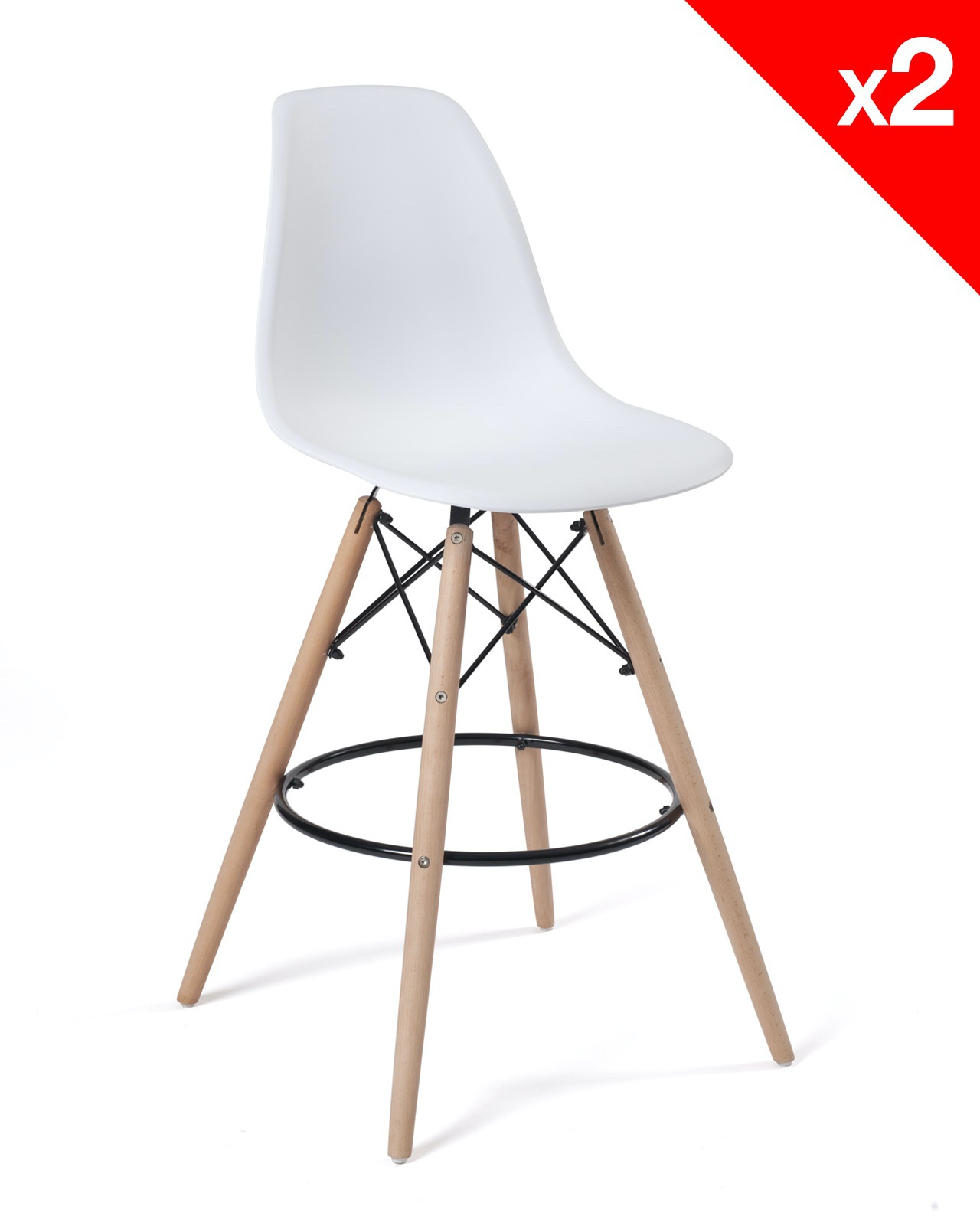 Sleo Tabouret De Bar Dsw Lot De 2