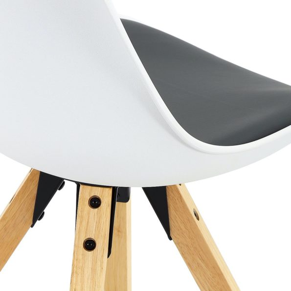 Chaises Scandinave blanches Kayelles