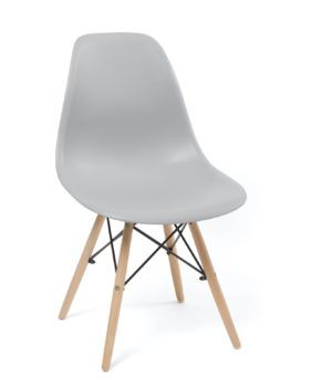 chaise-scandinave-design-dsw-gris