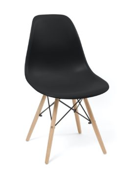 chaise-scandinave-design-dsw-noir
