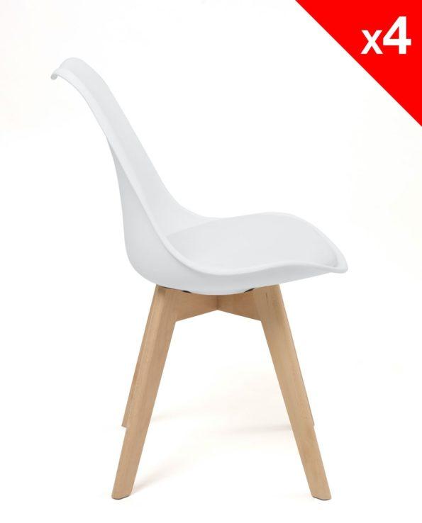 Chaise pas cher - Design Scandinave - LAO