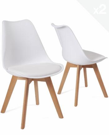 lot-2-chaises-scandinave-coussin-pas-cher-lao-blanc